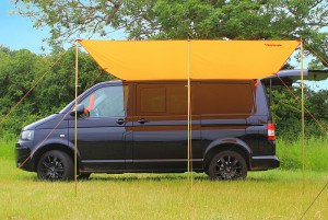 VW Campervan Sun Canopy Awning - 3 Pole Set-up
