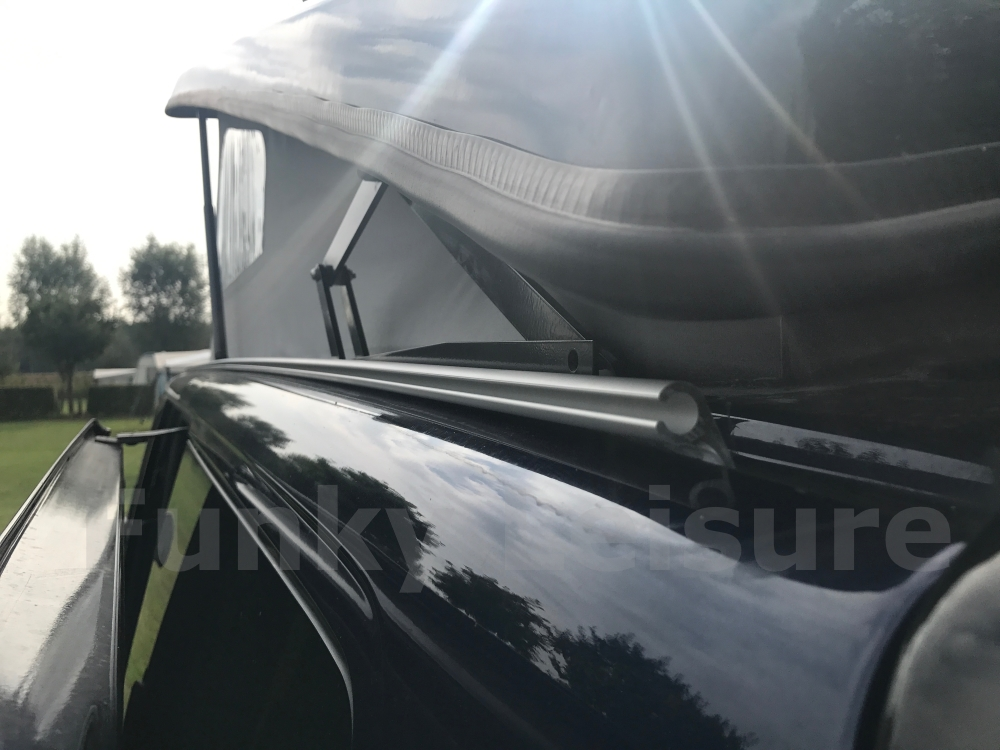 How To Fit A C Channel C Profile Awning Rail To A Vw T4
