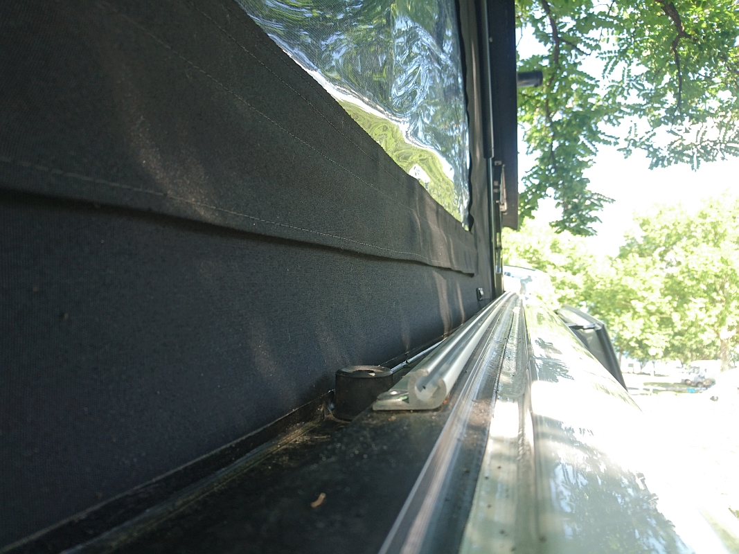 How to fit a C-Channel C-Profile Awning Rail to a VW T4, T5