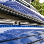 c-channel fitted to side of VW T5 roof gulley