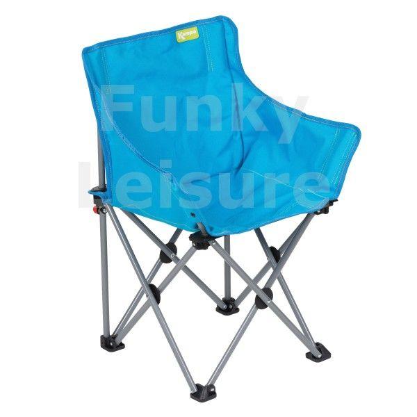 Kampa Mini Tub Kids Camp Chair Bright Blue