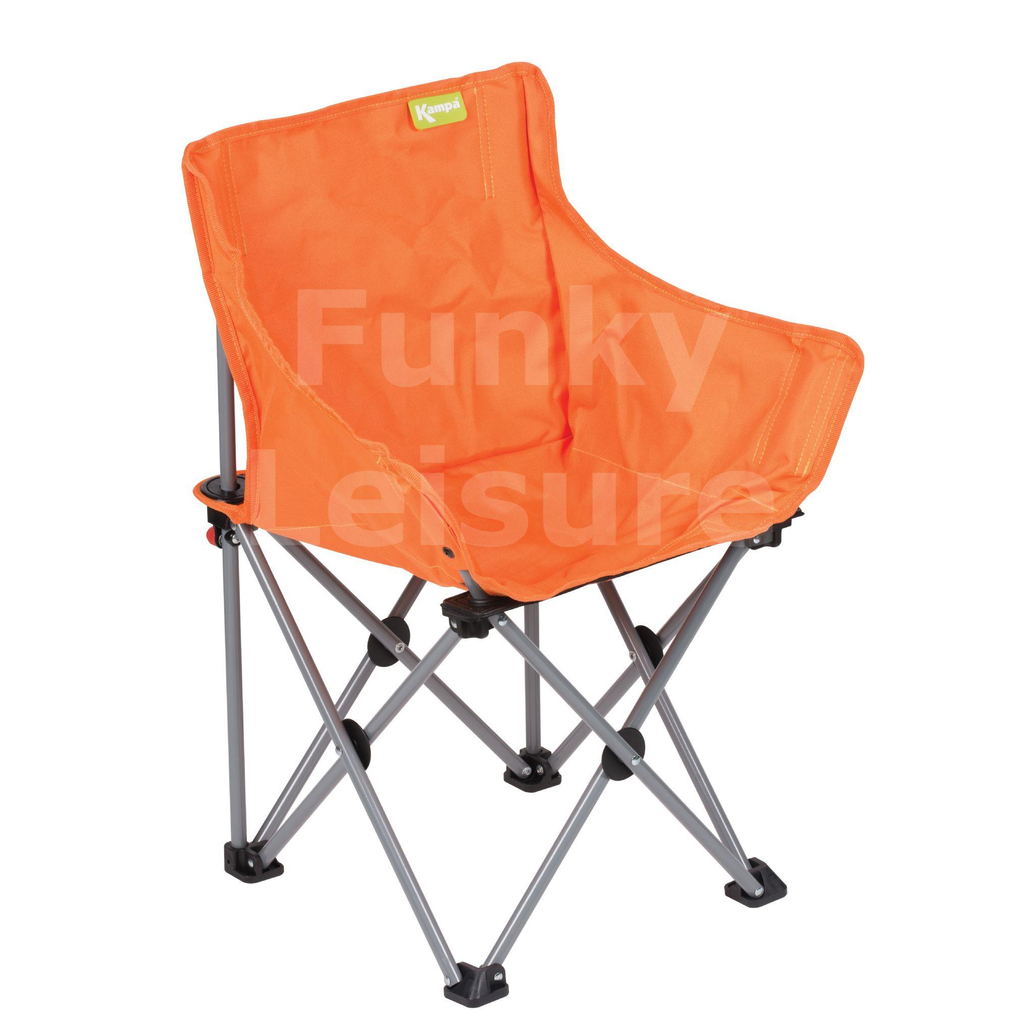 Kampa Mini Tub Kids Camp Chair Bright Orange