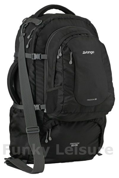 Vango Freedom 80 20 Litre Travel Backpack Black