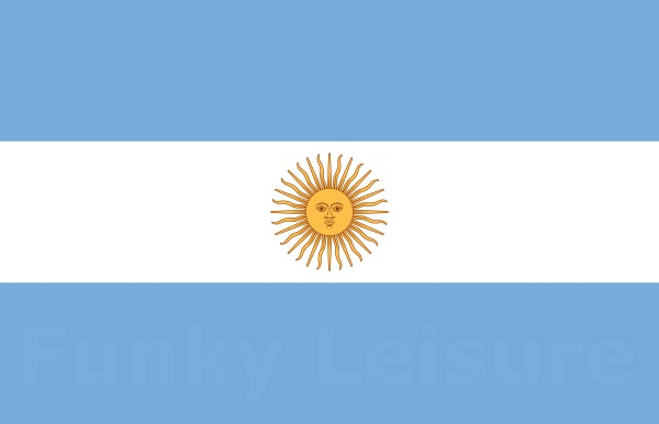 Bandera Oficial De Ceremonia Flag Of Argentina