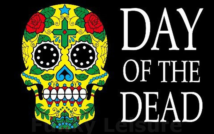 Day Of The Dead Flag