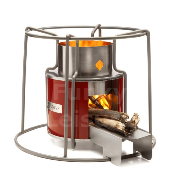 EzyStove Wood-Burning Camp Stove - Wood Camping Stove WB Designs