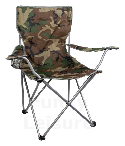 Highlander Camping Chair Camo