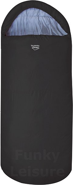 Highlander Sleephaven Wide Sleeping Bag - Black