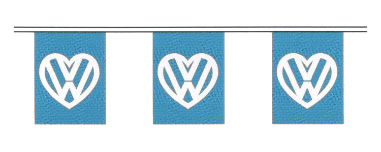 I Love My Vw Bunting