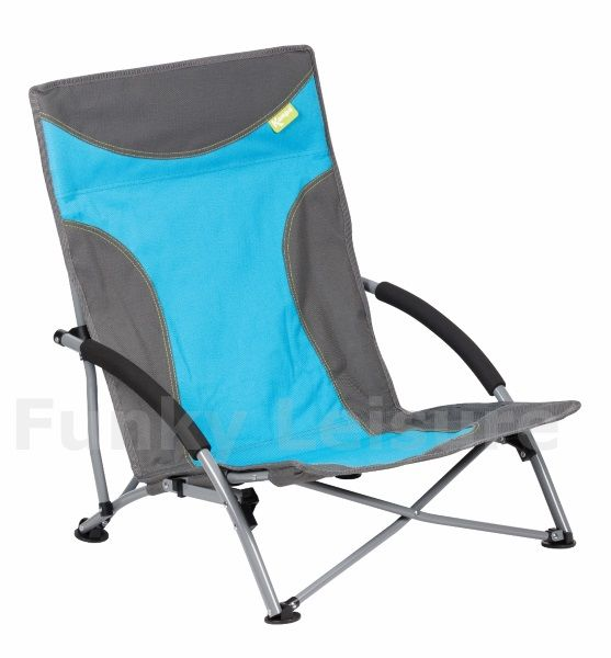 Kampa Sandy Low Level Folding Camp Chair Blue
