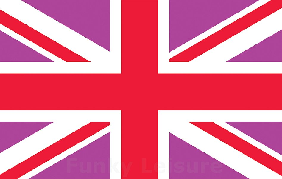 Pink Amp Red Union Jack