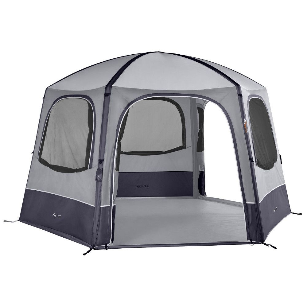 Vango AirBeam AirHub Hex Gazebo - Smoke
