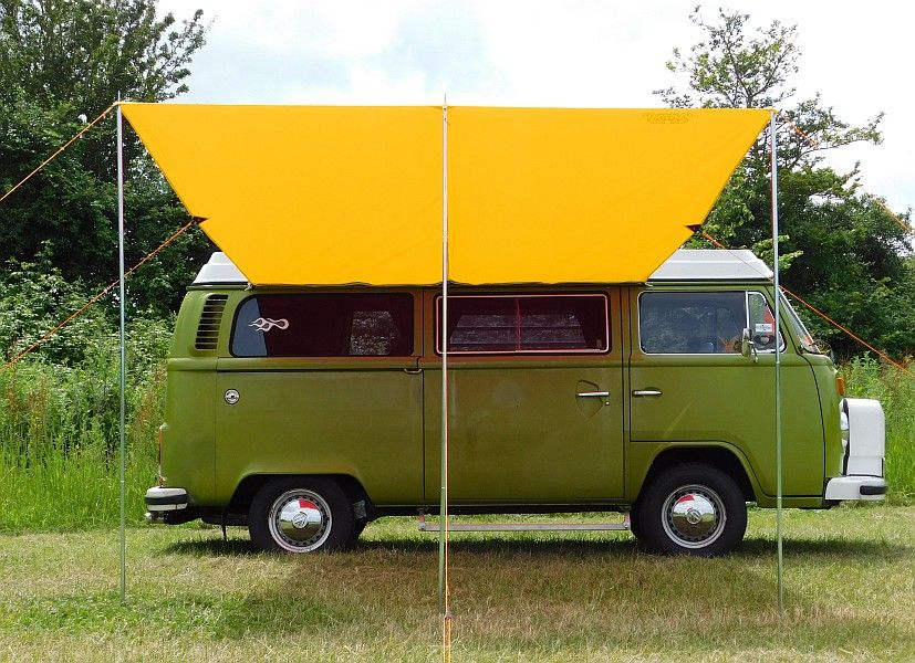 VW Type 2 T25 Campervan Sun Canopy Awning Sierra Yellow