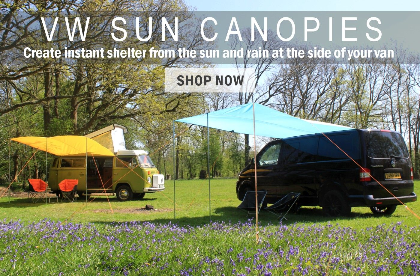 813b9fbbaac VW Camper Van Awnings & Camping Gear – Cool Kit for Road Trips & Adventure  Travel